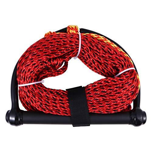 LIOOBO Corda per Sci Nautico Corde per Manico Galleggiante Corde per Fune da Wakeboard per Nautica Sport Acquatici Kneeboard Wakeboard Colore Casuale