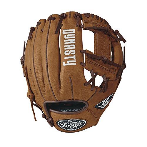 """Louisville Slugger Dynasty Baseball Gloves, Left Hand, 11.5"""", Caramel"""
