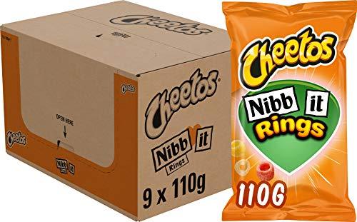 Cheetos Nibb-it Rings, Doos 9 stuks x 110 g