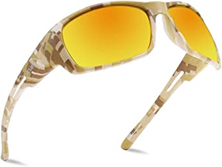 64b63b01ee2f JOJEN Men s Polarized Sports Sunglasses for Men Driving Cycling Running  Fishing Golf Al-Mg Metal
