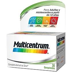 Multicentrum 13 Vitaminas y 11 Minerales - 30 Comprimidos