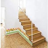 Pegatinas de pared Flor etiqueta de la pared tulipán horticultura cerca flores calcomanías de pared para escaleras sala de estar jardín de infantes decoración del hogar