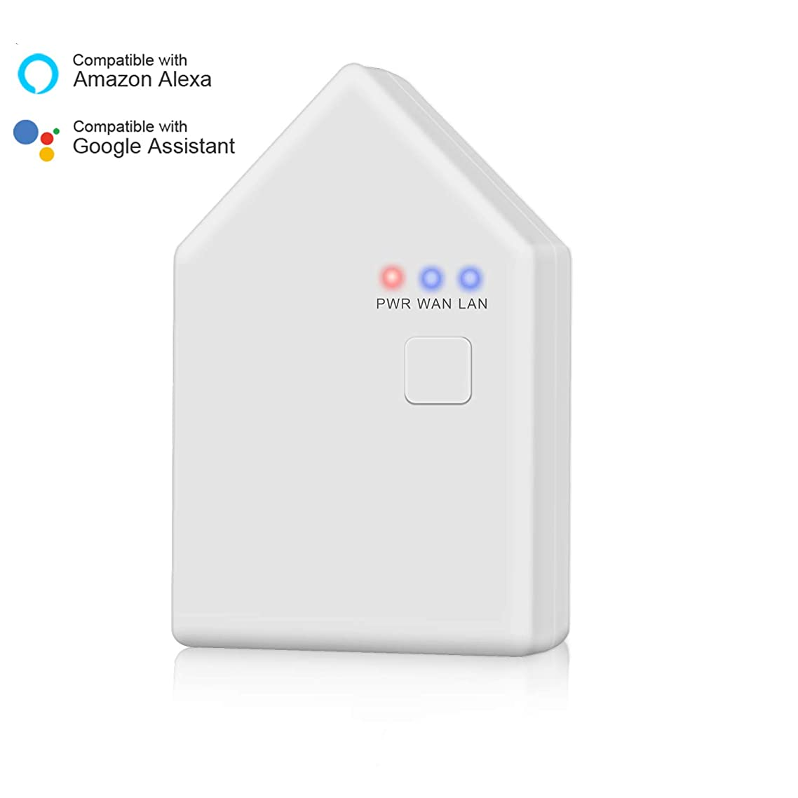 Magic Hue Smart Home Hub, Stand Alone Bridge, Works with All Magic Hue Bluetooth_Mesh Devices, Compatible with Amazon Alexa and Google Home