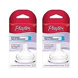 Plytx Full Sz Nipple Med Size 2pk Playtex Fullsized Nipple - Medium Flow 2pk