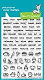 Lawn Fawn Clear Stamps 4'X6'-Plan On It: Meal Planning