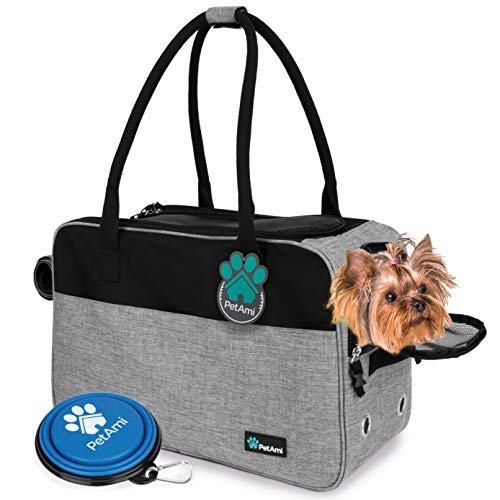 PetAmi Airline Approved Dog Purse Carrier | Soft-Sided Pet Carrier for Small Dog, Cat, Puppy, Kitten...