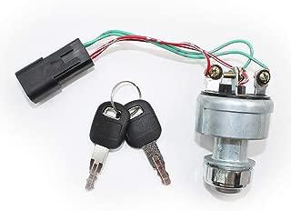 Koauto 142-8858 New Ignition Switch With 2 Keys Fits Caterpillar 257B Cat D6T 247B D6R
