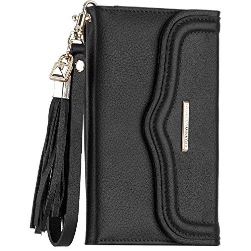 Case-Mate Rebecca Minkoff Collection lederen portemonnee portemonnee hoesje voor Apple iPhone 6 Plus/6S Plus - amandel