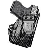 Tulster IWB Profile Holster in Right Hand fits: Glock 26/27/28/33 w/TLR-6