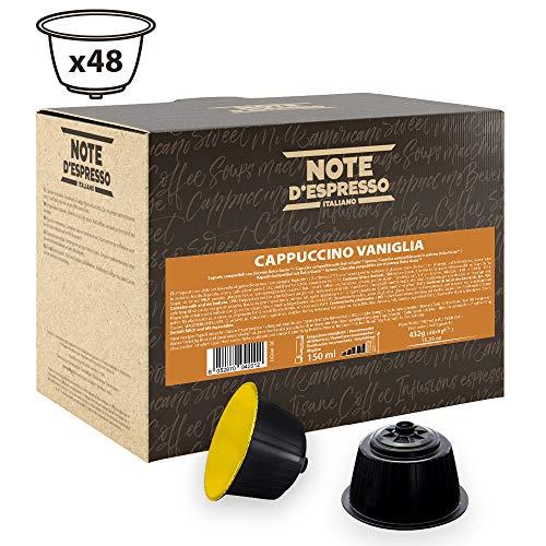 Note D'Espresso Vanilla Cappuccino Instantkapseln, ausschließlich Kompatibel mit Nescafé* und Dolce Gusto* Kapselmaschinen 9g x 48 Kapseln
