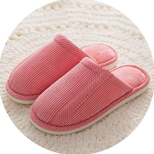 Indoor House Slipper Soft Plush Cotton Cute Non-Slip Floor Home Furry Slippers Women Shoes,Beige,6