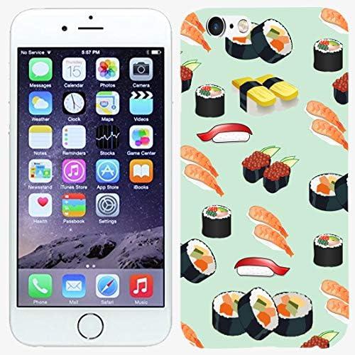 TeleSkins iPhone 6 6S Case Sushi Pattern Designer Case Ultra Durable Slim Fit Protective Soft product image