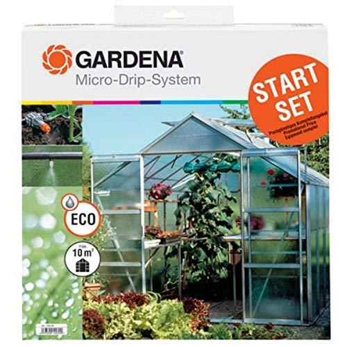 Gardena 1403 Mikro-Tropf-Starter-Set für Gewächshäuser