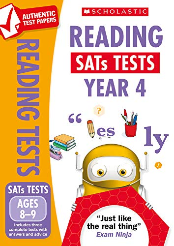 KS2 Reading SATs Practice Papers for the 2021 test: Year 4 (National Curriculum SATs Tests)