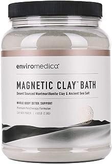 Enviromedica Magnetic Clay Natural Detox Bath Cleanse – Ancient Sodium and Calcium Bentonite Clay Powder with Himalayan Pi...
