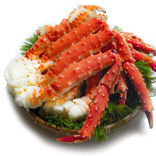 たらば蟹 足 天然 ボイル タラバガニ 良品選別済 ギフトパック 特大 蟹 かに (2kg:1kg2肩)