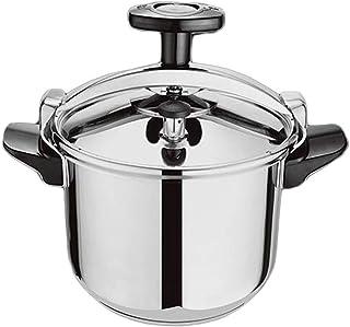 Olla de presión cocina de inducción cocina de gas en general 304 de acero inoxidable de centrifugado hogar recubrimiento de vapor olla de sopa conveniente for el hogar o 6L utensilios de cocina comerc