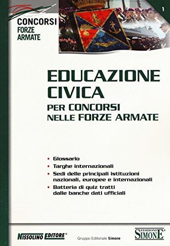 Educazione civica per concorsi nelle forze armate