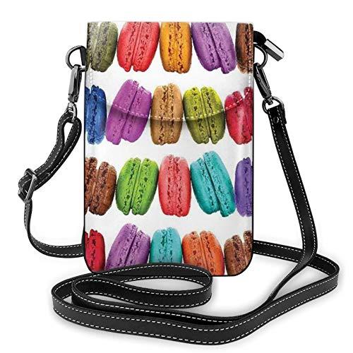 Handy Geldbörse Crossbody Aron Keks Aromatisiert Gebäck Frauen Pu Leder Mode Handtasche mit verstellbarem Riemen