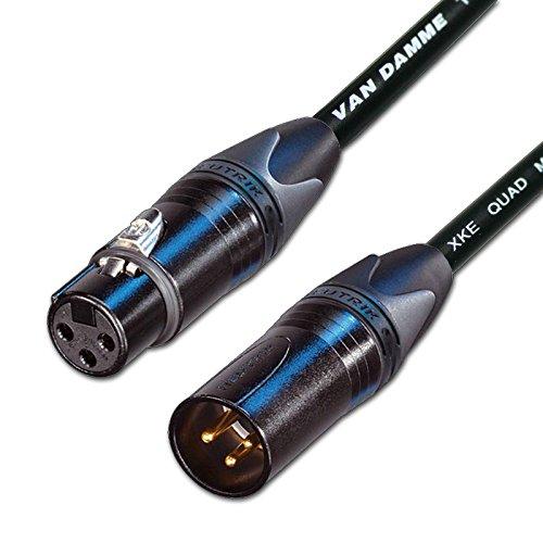 Designacable NC3FXXB-VDSQBK0300-NC3MXXB Van Damme STAR QUAD...