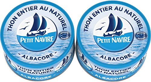 Petit Navire Thon Naturel 2x1/6 Démarche Responsable