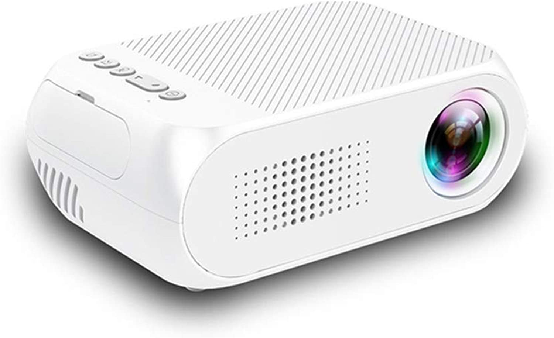 Local Makes A Comeback Projektor YG320 MIN, LED-Projektor, für Kinder, tragbar, HD, Wei