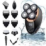 Glynee Electric Shaver Razor for Men, Men's Shaver Trimmer Grooming 5 in 1