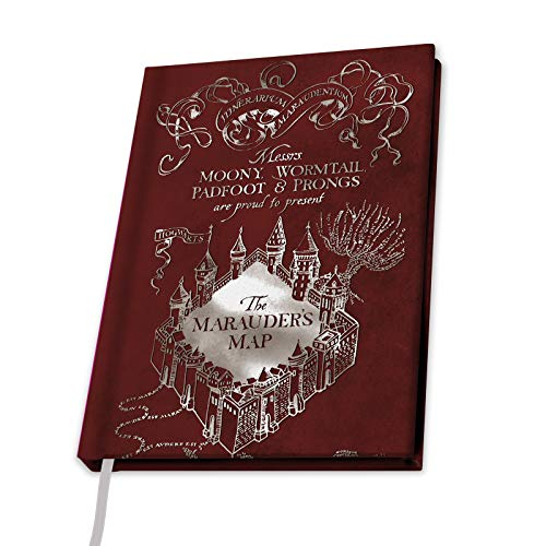 ABYstyle - Harry Potter - Cahier A5 - Carte du Maraudeur