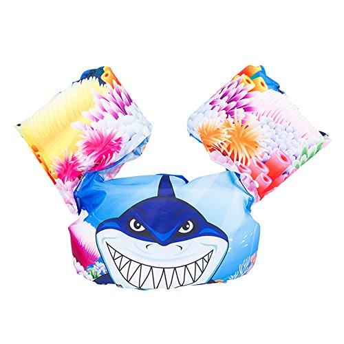 Zerlar Funny Cartoon Bubble Swim Vest Float Suit Schwimmhilfe für Kinder