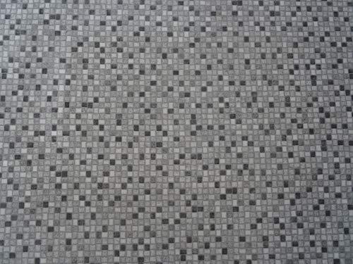 PVC Bodenbelag in Mosaik-Optik (9,95€/m²), Zuschnitt (2m breit, 1m lang)