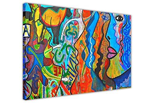 """Art Prints Tableau sur toile Motif abstrait Réimpression d'une peinture à l'huile 07- 30"""" X 20"""" (76CM X 50CM)"""