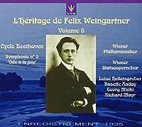 L'Heritage de Felix Weingartner Volume 8 - Beethoven: Symphony No. 9 Ode to Joy (recorded February 1935)