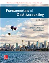 fundamentals of cost accounting lanen