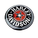 HARLEY-DAVIDSON(ハーレーダビッドソン) 純正七宝フュエルキャップメダリオン ブラック HD99537-96