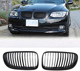 Lixuejian For 3 Series F30 F35 2011-2016 Black Grill Black Front Grille Racing Sport Gloss Black