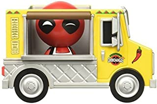 Funko Dorbz Ridez Marvel Deadpool and Chimichanga Truck