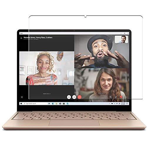 Vaxson 3 Unidades Protector de Pantalla, compatible con Microsoft Surface Laptop Go 12.4' [No Vidrio Templado] TPU Película Protectora