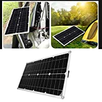防水ソーラーパワーパネルソーラーパネルバッテリーライトと薄型、セキュリティカメラ用、ソーラー街路灯用