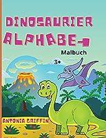 Dinosaurier Alphabet Malbuch