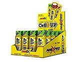 Amix - Cellup Shot - Suplemento Alimenticio - Contiene Cafeína - Aumenta la Fuerza y Congestión Muscular - Fórmula Pre-Entrenamiento - Nutrición Deportiva - Sabor a Energy - 20 Viales de 60 ml
