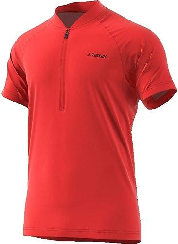 Adidas 1 2Zip Tee T Shirt