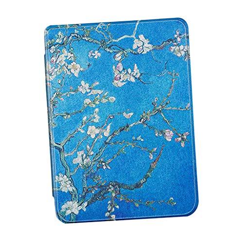 gazechimp Capa Elegante E Elegante Para Leitor De E-livro Para Kindle Paperwhite 4th Generation - Flor de ameixa