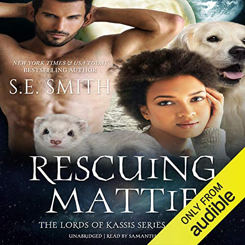 Rescuing Mattie audiobook cover art