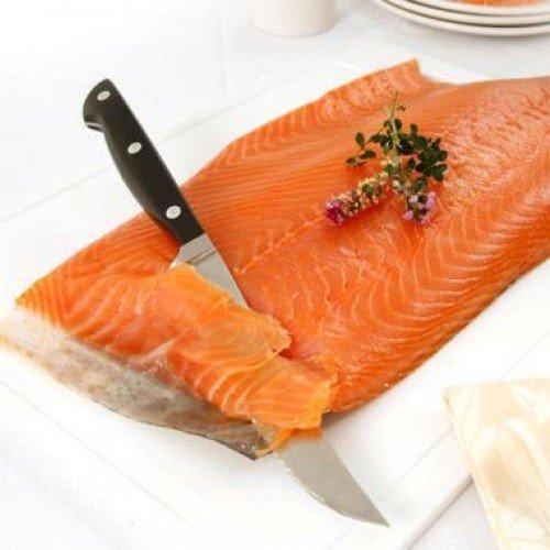 Port of Lancaster Smokehouse Smoked Scottish Salmon - Unsliced Sides min...