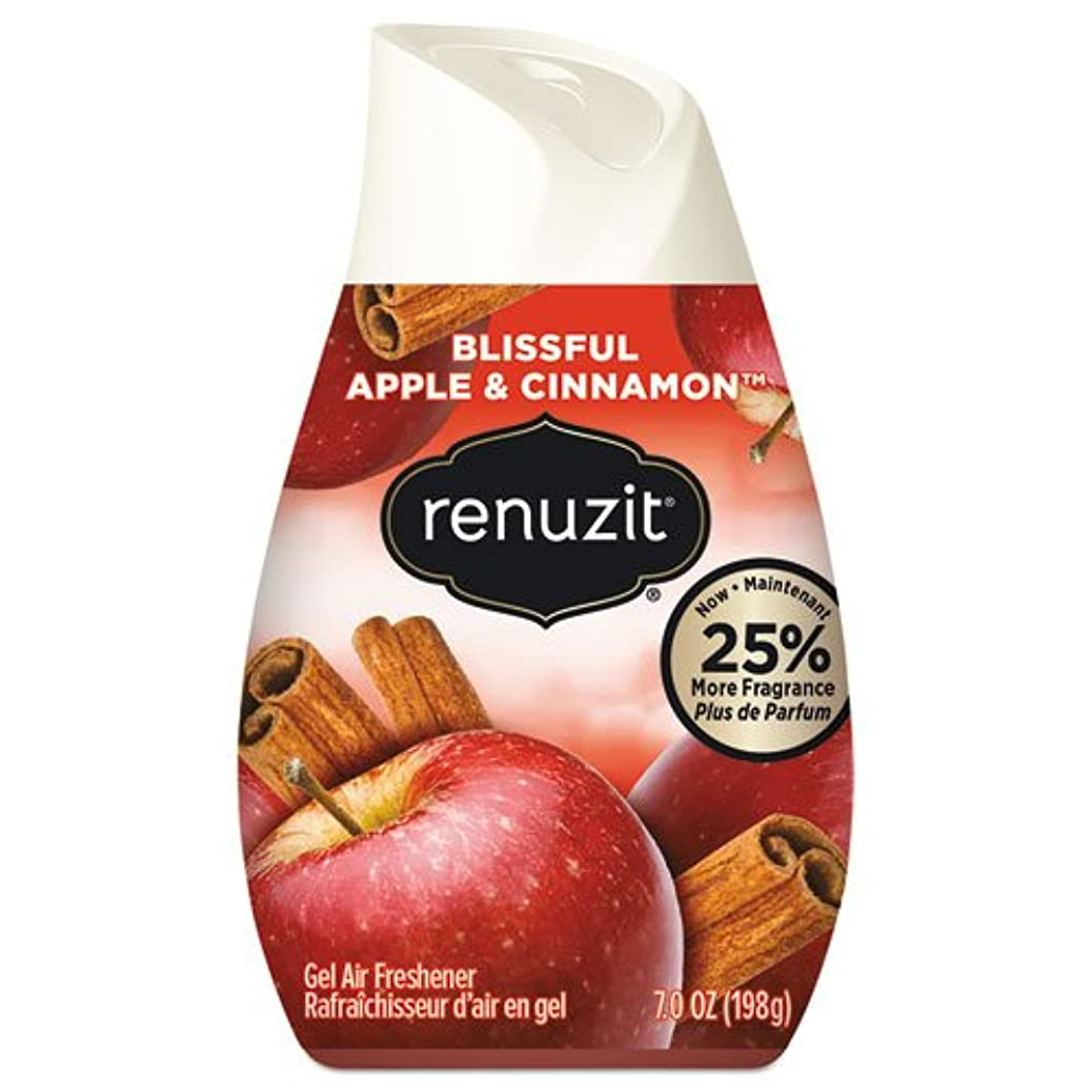 深める噴出する農場リナジット[Renuzit] エアーフレッシュナーアップル&シナモン198g 芳香剤