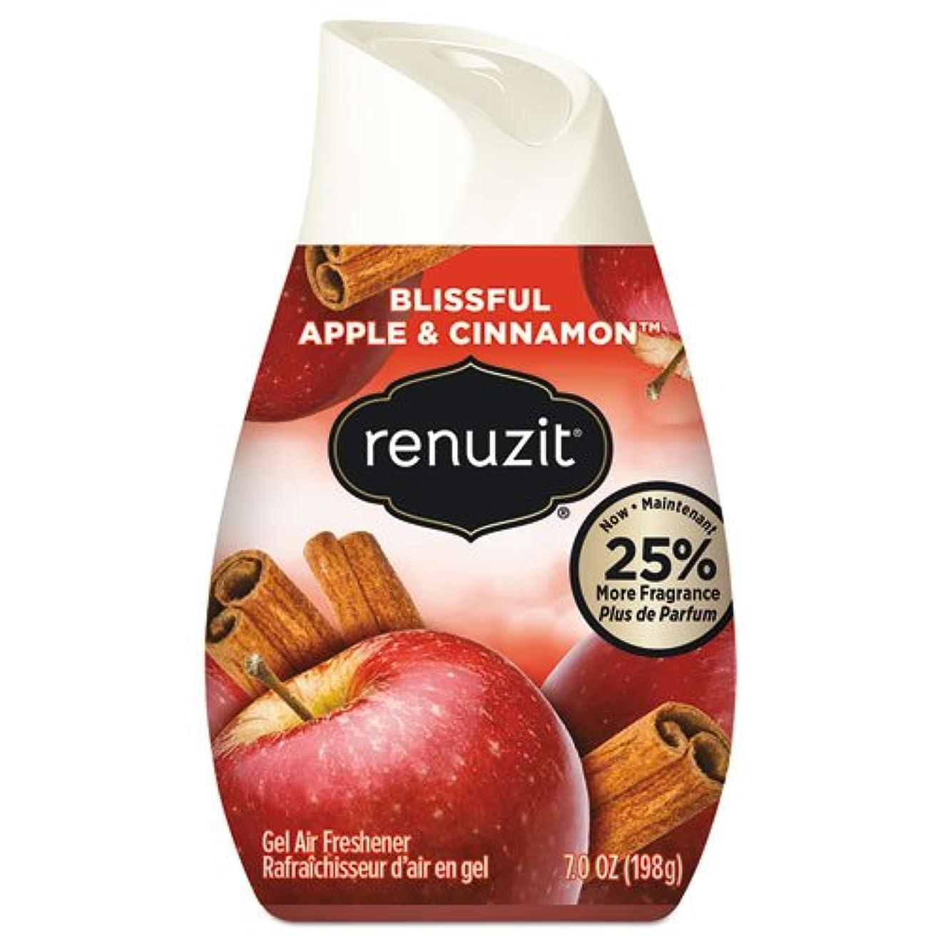 仲間、同僚有用証明リナジット[Renuzit] エアーフレッシュナーアップル&シナモン198g 芳香剤