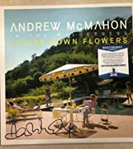 Andrew Mcmahon Upside Down Flowers Autographed Signed Memorabilia Vinyl Record Album Beckett G85659