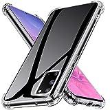 Joyguard Hülle für Samsung Galaxy S20, Silikon Ultra Dünn TPU Bumper Anti-Kratzer Schock-Absorption Handyhülle für Samsung Galaxy S20-6.2 Zoll- Transparent