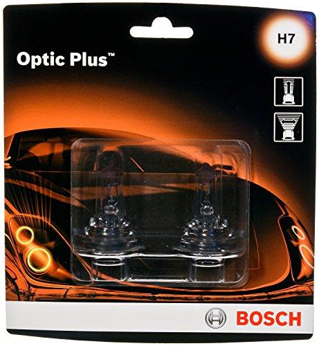 Bosch H7 Optic Plus Upgrade - Cápsula halógena (2 unidades)