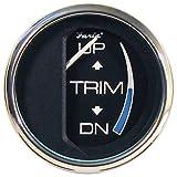 Faria 13709 Chesapeake Black Trim Gauge for Johnson Evinrude